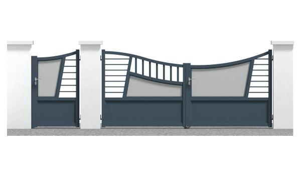 Portail et portillon Santenay